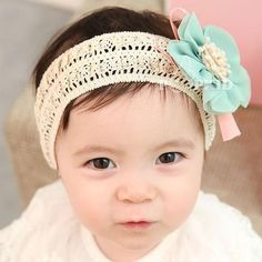 Girl/'s 5yrs Baby/'s White Satin Alice Hair Band with Satin Ribbon Bow 6 months