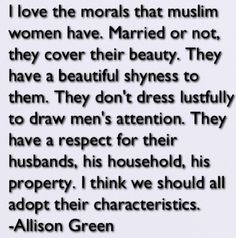 Non muslims view about muslimahs.