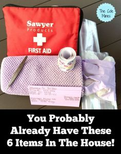 6 Everyday Items To Add To Your First Aid Kit