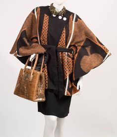 Basotho blankets, a southern Africa winter mainstay, have been re-fashioned into… South African Fashion, African Fashion Designers, African Print Fashion, African Print Dresses, African Fashion Dresses, Punk Fashion, Lolita Fashion, Emo Dresses, Party Dresses