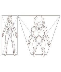 Amazing proportion tutorial by independent artist Warren Louw!