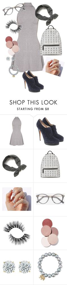"""""""Logo 2."""" by reka15 on Polyvore featuring Casadei, MCM, SoGloss, Ace, LunatiCK Cosmetic Labs and Sydney Evan"""