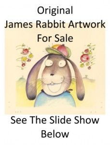 Babette's new hilarious, wicked picture book James Rabbit and the Giggleberries