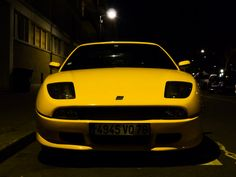 Fiat Coupe / She seems to be sad, but elegant.