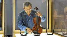 Violins of Hope: Violins played by Jews during the holocaust, collected by Amnon Weinstein.