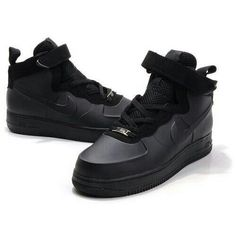best loved 68612 7627b Nike Air Force One High Men Patent Leather Men Black Shoes 1004