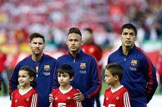 22.05.16 Barcelona 0 - 0 Sevilla !! #Neymar #Neymarjr #FcBarcelona ❤⚽ Neymar Pic, Messi And Neymar, Lionel Messi, Barcelona Team, Love You Babe, Good Soccer Players, Team Player, Football Fans, Respect