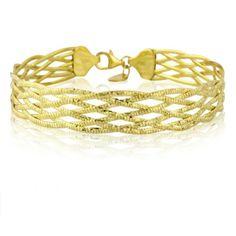 Mark Milton: Entwine Lattice Bracelet, Stand Number 2G-10.  www.mark-milton.com