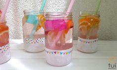 Lemoniada w słoikach na kinder party - krok po kroku Toothbrush Holder, Diy, Bricolage, Do It Yourself, Homemade, Diys, Crafting