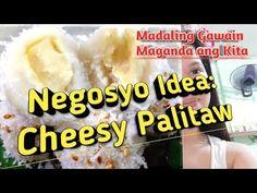Murang Negosyo Idea sa Halagang 500: CHEESY PALITAW + ORIGINAL PALITAW - YouTube Asian Recipes, Ethnic Recipes, Pinoy, Filipino, Mashed Potatoes, Delicious Desserts, Banana, Favorite Recipes, The Originals