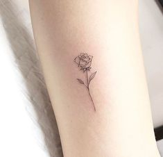 Tatouage tatoo rose