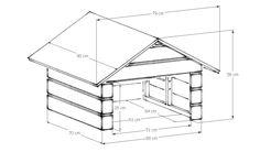 Kompakte Rasenmäher Roboter Garage - zum selber Streichen! - schickes Zuhause für Ihren Mähroboter - Schutz vor Wind und Wetter - Aussenverschalung unbehandelt - In 10 Minuten aufgestellt - Seitenteile zusammenschrauben - über Mähroboter samt Ladestation stülpen - Dach aufsetzen - fertig! Kompatibel - Worx Landroid WR111MI, WR113MI - Worx Landroid M WG754E, WG756E, WG790E.1, WG796E.1, WG796E Beschrieb - Garage steht auf 4 Füssen damit das Holz keine Feuchtigkeit aus dem Boden zieht - Dach…