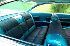 Upholstery and interior restoration of your classic Cadillac, by CPR - http://www.cprforyourcar.com/cadillac-interior-restoration-upholstery/
