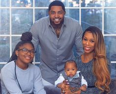 Lil Scrappy Is Proud And Frightened As Daughter Emani Gets Older — Check The Photo That Has Bambi Benson's Husband Sweating Family Photos What To Wear, Winter Family Photos, Large Family Photos, Family Maternity Photos, Outdoor Family Photos, Cute Family, Baby Family, Family Goals, Beautiful Family