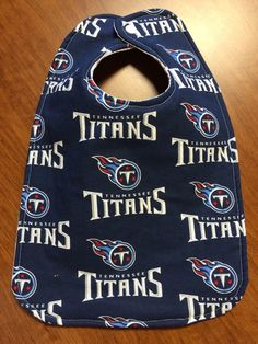 A personal favorite from my Etsy shop https://www.etsy.com/listing/247513931/tennessee-titans-baby-bib