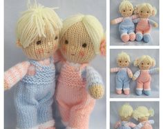 Jolly Dolly Bags knitting patterns INSTANT DOWNLOAD von dollytime