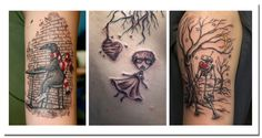 I love Shawn Dubin's illustrative tattoos.  He's out of Philly at Moo Tattoo.