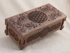 Flower of Life Collectors Chest Gift  Box by BulgarMaster on Etsy