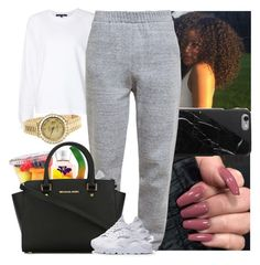 """""""❣️"""" by melaninmonroee ❤ liked on Polyvore featuring Sofie D'hoore, Native Union, 3.1 Phillip Lim, MICHAEL Michael Kors and Rolex"""