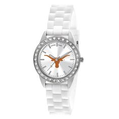 Texas Longhorns Frost Ladies White Wrist Watch