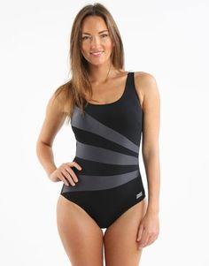 7bb24ed7cc784 Sandon Scoopback - Black and Black Gloss. Monokini SwimsuitsTankiniWomen's  SwimwearBikinisWomens ...