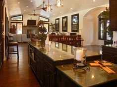 Beautiful kitchen and dining room! Love it!