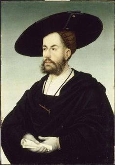 Portrait of Anton Fugger, early 16th century, Hans Maler