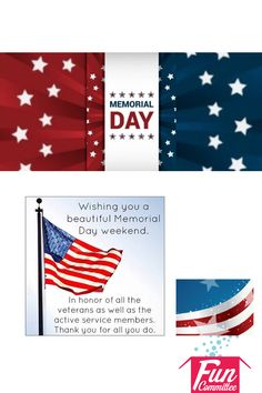 Happy Memorial Day Weekend  From  #FunCommittee  Toll Free: 855.995.5559 www.FunCommittee.com  Fun Committee | Everything you need for affordable #employeerecognitiongifts  #employeeappreciationgifts  https://plus.google.com/+Funcommittee  Email: Contact@FunCommittee.com