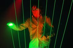 Jean Michel Jarre (with his laser harp - Google Search
