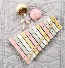 Xylophone - Custom Painted Wooden Musical Instruments, Early Music, Make Happy, Custom Paint, Hand Painted, Color, Colour, Colors
