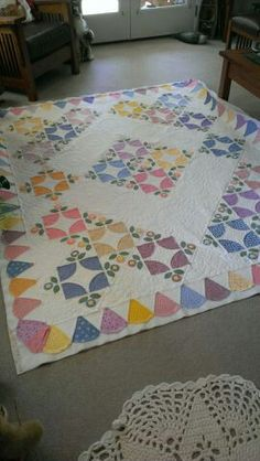 Just off the quilt frame