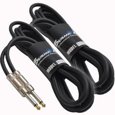 """Seismic Audio - (2 Pack) 10 Foot 1/4"""" to 1/4"""" Speaker Cables - PA DJ Patch Cords by Seismic Audio. $33.99. 1/4"""" to 1/4"""" Speaker CableModel Number: FS101/4"""" to 1/4"""" Speaker Cable10 Feet14 GuageBrand NewOne Year WarrantyThese are heavy duty 1/4"""" speaker cables designed for shorter runs. These are 14 gauge cables, which is an ideal gauge for smaller lengths. All Seismic Audio cables come with a one year warranty and 30 day money back guarantee. With your purchase..."""