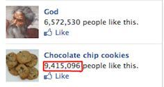 God vs Chocolate Chip Cookies