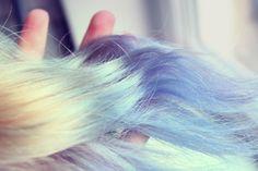 Bleach London Blullini dip dye, love this colour!