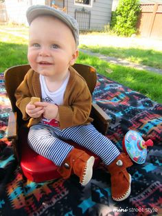 Mini Street Style #93 from The Baby Blackbird
