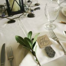 Petoskey Stone Favors