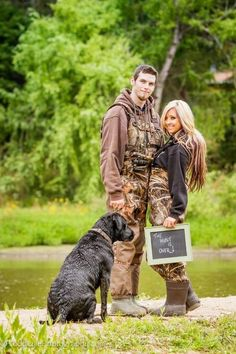 Hunting Engagement Photos