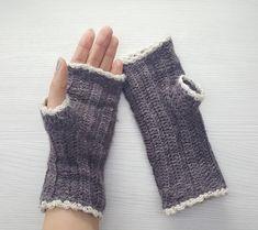 Virkatut kämmekkäät Fingerless Gloves, Arm Warmers, Fashion, Fingerless Mitts, Moda, Cuffs, Fashion Styles, Fingerless Mittens, Fasion