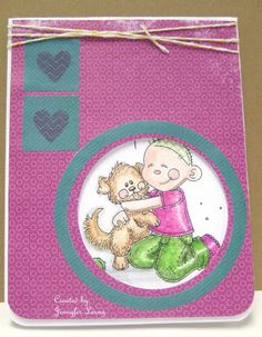 Created by Jennyfer for the Cards for Maddy Drive at Simon Says Stamp. June 2013