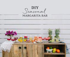 DIY Seasonal Margarita Bar
