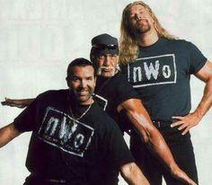 Scott Hall Hulk Hogan and Kevin Nash nWo