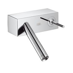 Trendy Bathroom Faucet Is Pureness Of Design, Grace Of Form ... Badarmaturen Von Hansgrohe Axor Stark V Ist Perfektion Aus Glas