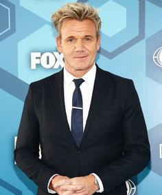"Former ""Fat Chef"" Gordon Ramsay Tells Us How to Cut Calories But Not Flavor from InStyle.com"