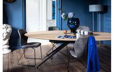 Eettafel Ferris Blank eiken kopen?   Goossens Sweet Home, Dining Table, Indoor, Living Room, Interior, Furniture, Home Decor, Mma, Products