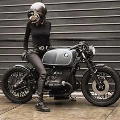 #BMW R45 #CafeRacer