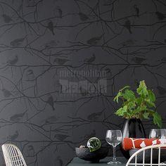 AllModernOutlet.com - Birds on Branches Wallpaper by Ferm Living, $110.00 (http://www.allmodernoutlet.com/birds-on-branches-wallpaper-by-ferm-living/)
