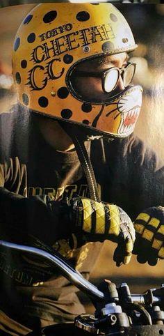 Retro Helmet, Vintage Helmet, Vintage Biker, Scrambler Motorcycle, Moto Bike, Motorcycle Helmets, Chopper, Pinstriping, Cafe Racer Style