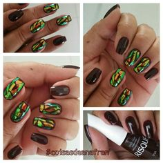 Entrado na onda das #unhasdevidro   veja mais e saiba como fazer www.coisasdeanafran.com.br  #glassnails #unhasdofds #unhasdasemana #unhasdaanafran #euquefiz #coisasdeanafran #nails #esmaltando