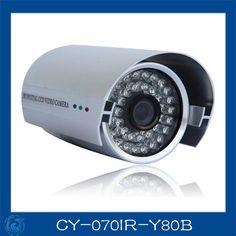 "1/3""SONY 800TVL camera with 36pcs IR LED 3D-DNR waterproof outdoor camera.CY-070IR-Y80B"