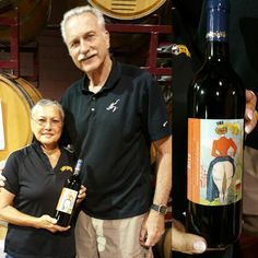 """John & Shelly Liggett bottled their """"Chardonneigh"""" & Opus Blend wines this summer. Their custom label showcases the delightful logo for Camp Leaping Horn, a one of a kind equine side saddle event held each year in Gladstone, NJ.  Would you like to commemorate an event with premium wine you've made yourself? Make your own wine with award winning winemakers at Grape Finale! Contact Lisa for more information & to sign-up for Fall Winemaking Sessions: 908-237-0302; lisa@grapefinale.com"""